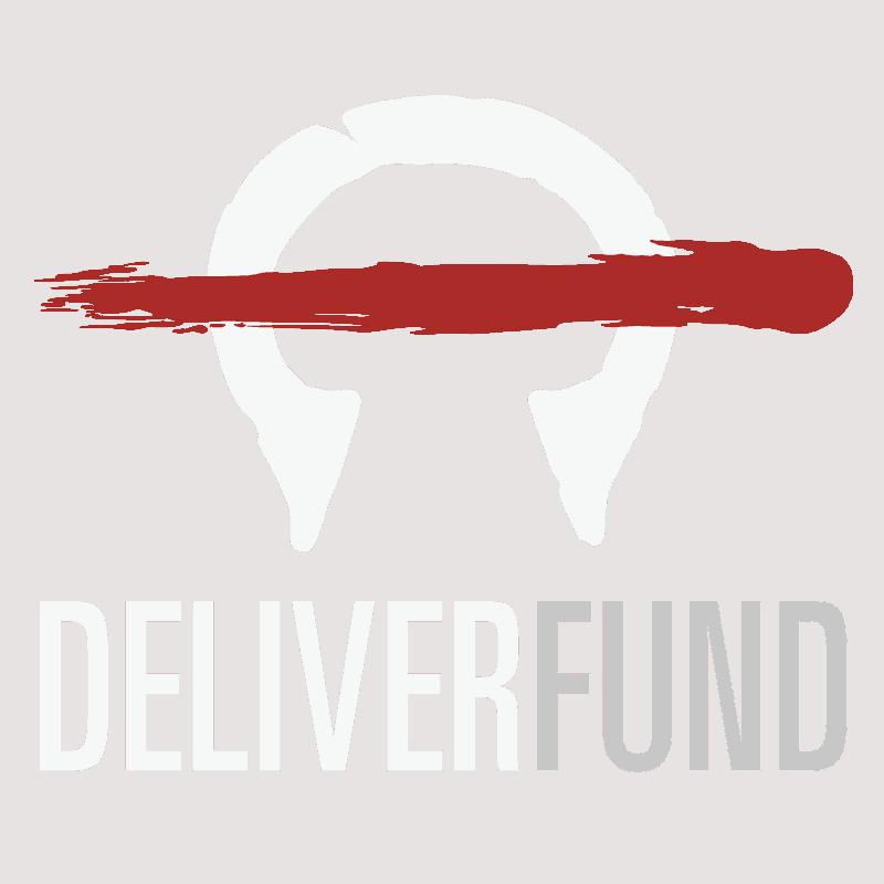 White DeliverFund logo