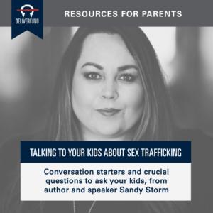 Sandy-Storm-Talking-to-Kids