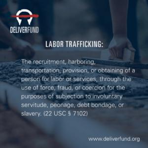 Labor Trafficking definition