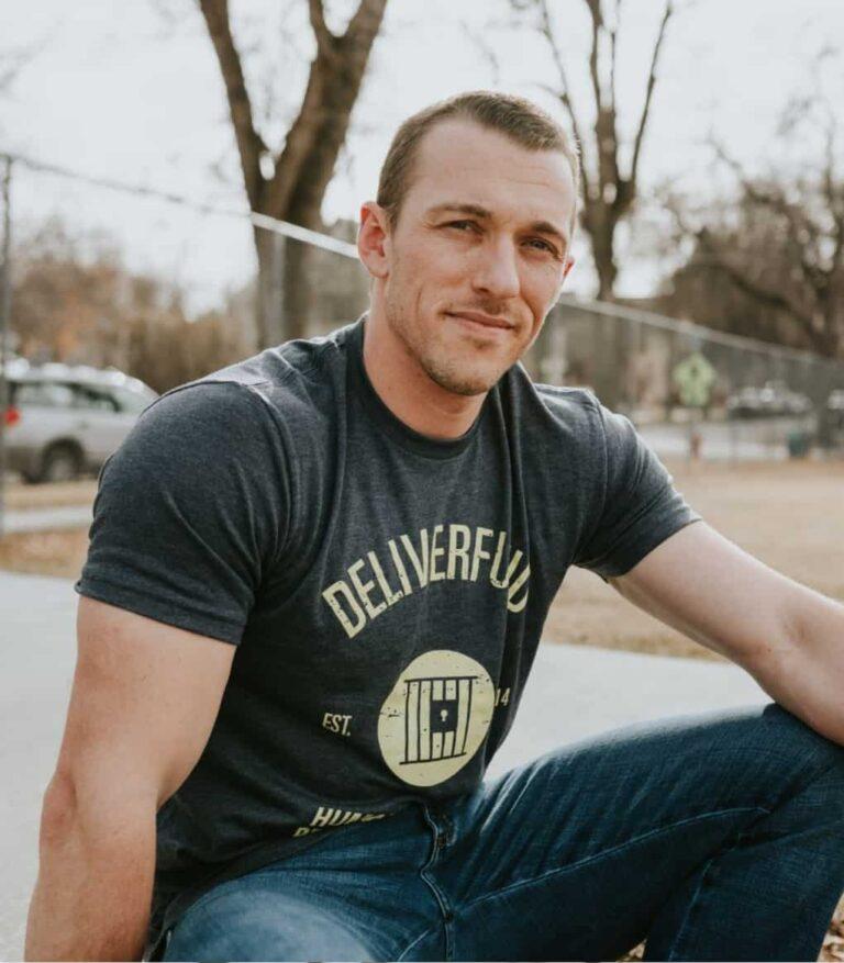 Men's Trafficker Rehoming Program tee