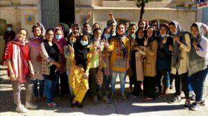 Afghan national girls soccer team