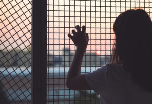 How are human trafficking victims transported